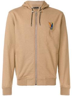 Laszlo print logo hoodie Versace
