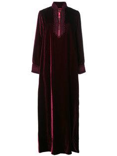 бархатное платье с высоким воротом  F.R.S For Restless Sleepers