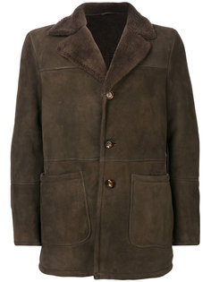 пальто из овчины Eleventy