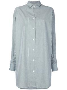 свободное платье-рубашка Christopher Esber