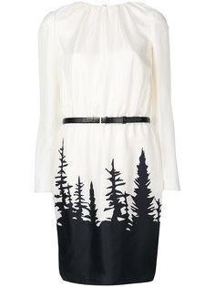 платье миди с поясом  Dsquared2