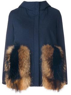 приталенная куртка с капюшоном  Ava Adore