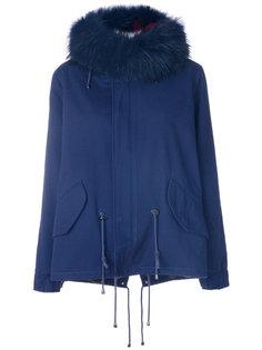 пальто-парка со шнурком  Forte Couture