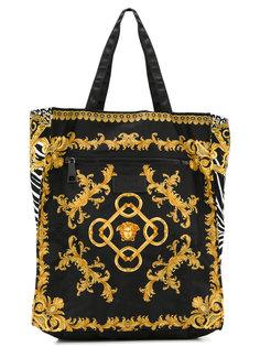 сумка с фирменным принтом Versace