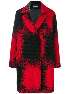 однобортное пальто Marco Bologna