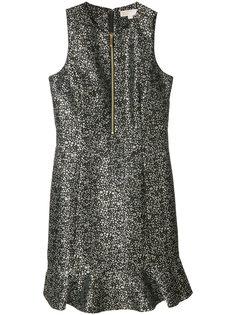 платье с оборкой  Michael Kors
