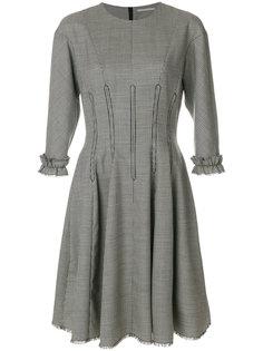 платье с оборкой  Marco De Vincenzo