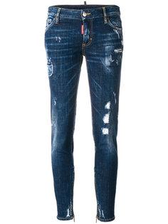 джинсы скинни с классической талией  Dsquared2