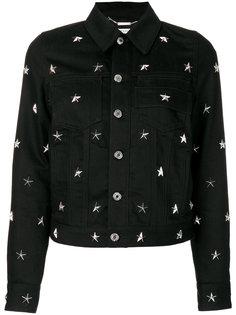 куртка с заклепками в виде звезд  Givenchy
