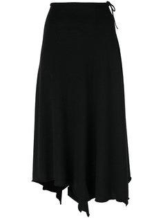 асимметричная трикотажная юбка  Cividini