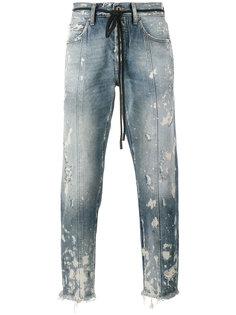 укороченные джинсы Arrow Off-White