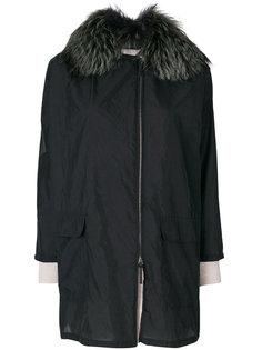 пальто с капюшоном  Cividini