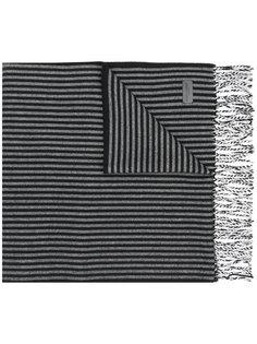 полосатый трикотажный шарф Saint Laurent