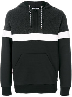 striped panel hoodie Givenchy