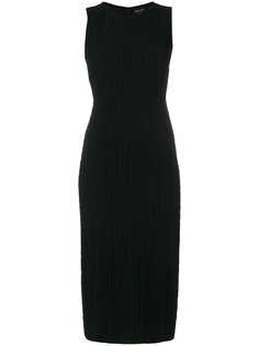 платье-миди без рукавов Giorgio Armani