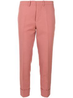 укороченные брюки с завышенной талией Marni