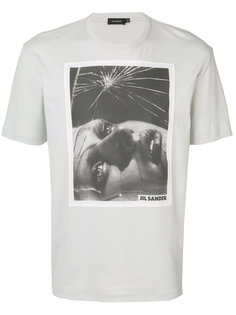футболка с фотопринтом Jil Sander