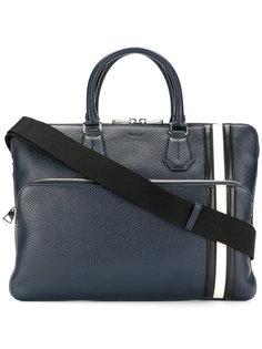 сумка-тоут с контрастной полоской Bally
