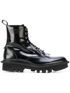 ботинки на шнуровке с кольцом для пирсинга Neil Barrett