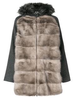 куртка с меховой вставкой  P.A.R.O.S.H.