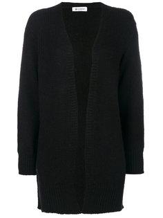 пальто-кардиган с отделкой в рубчик  Dondup