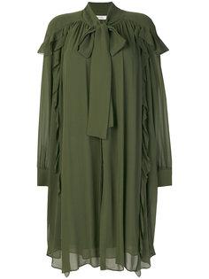 платье с оборками  Dorothee Schumacher