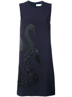 платье шифт с вышивкой Victoria Victoria Beckham