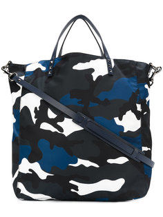 сумка-тоут с камуфляжным принтом Valentino Garavani Valentino