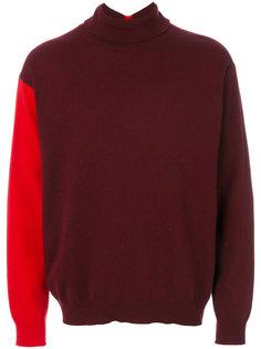 свитер с контрастным рукавом Marni
