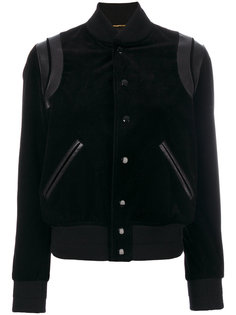 классическая куртка-бомбер  Saint Laurent