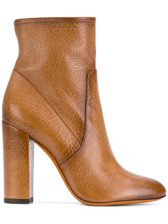 классические сапоги на каблуках Santoni