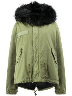 fur hood military jacket Mr & Mrs Italy
