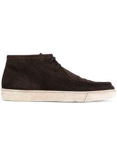классические туфли со шнуровкой Santoni