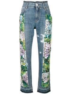 джинсы с заклепками  Dolce & Gabbana