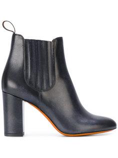 ботинки Челси на каблуках Santoni