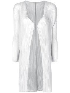 легкое пальто со складками  Pleats Please By Issey Miyake