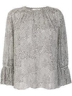 блузка с узором  Dorothee Schumacher
