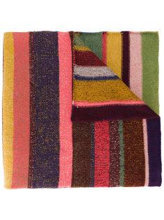 трикотажный шарф в полоску The Elder Statesman