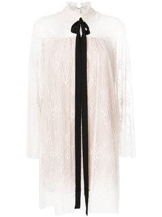 блузка с кружевным бантом  Twin-Set