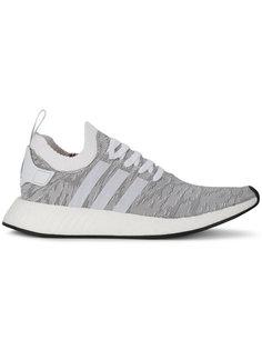 Grey Leopard NMD R2 Primeknit Trainers Adidas Originals