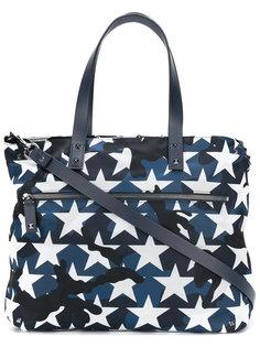 сумка-тоут Valentino Garavani с камуфляжным принтом Valentino