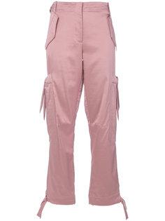 брюки-карго Moschino