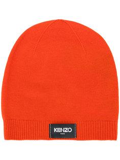 шапка с логотипом Kenzo