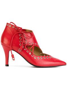 туфли с декоративной шнуровкой Toga Pulla
