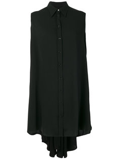 платье-рубашка без рукавов  Mm6 Maison Margiela