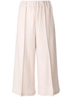 широкие укороченные брюки  Mm6 Maison Margiela