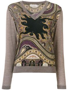 свитер с принтом  Etro