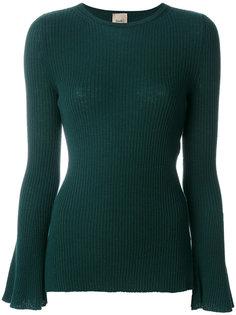 облегающий свитер в рубчик Nude
