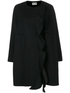пальто с рюшами Hache