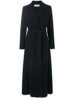 длинное пальто с поясом  Barena
